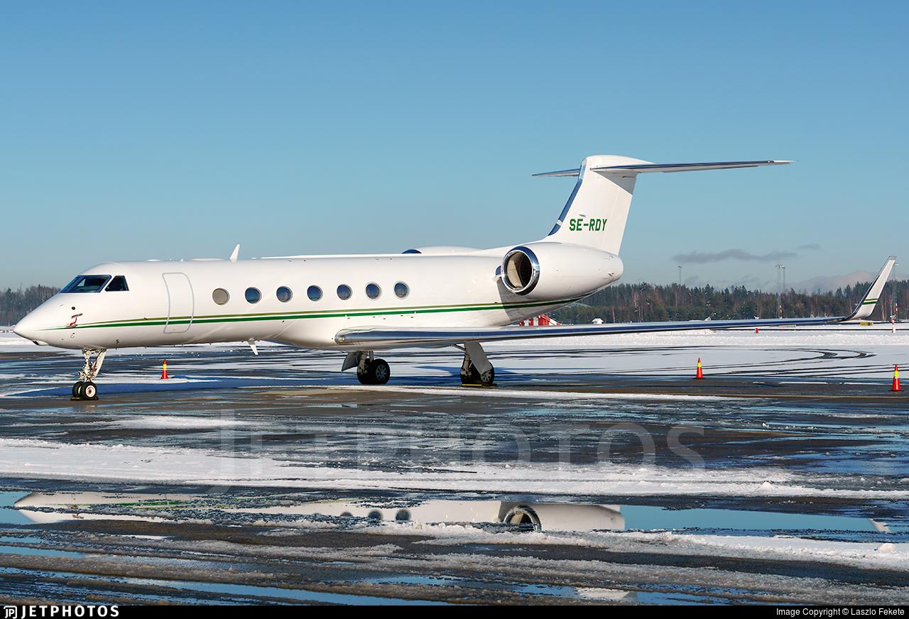 SE-RDY - Gulfstream G550 - EFS European Flight Service