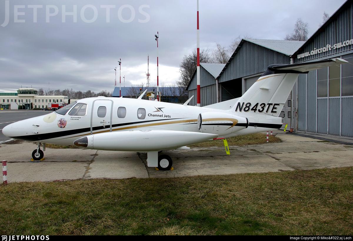 N843TE   Eclipse 500   Eclipse Aviation   Mikołaj Lech