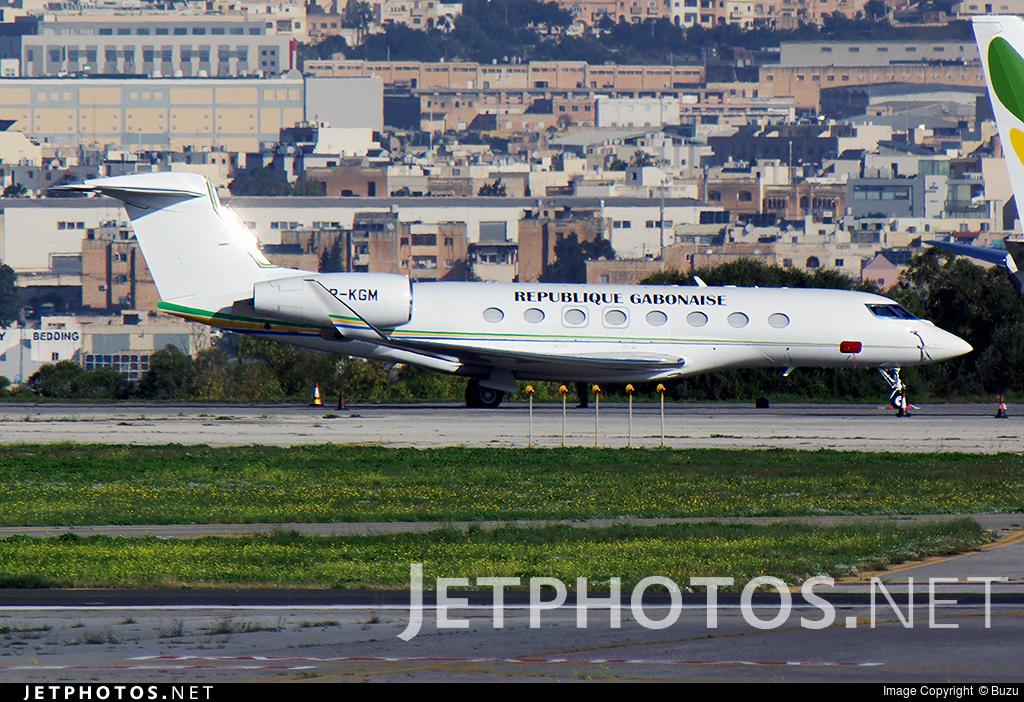 TR-KGM - Gulfstream G650 - Gabon - Government