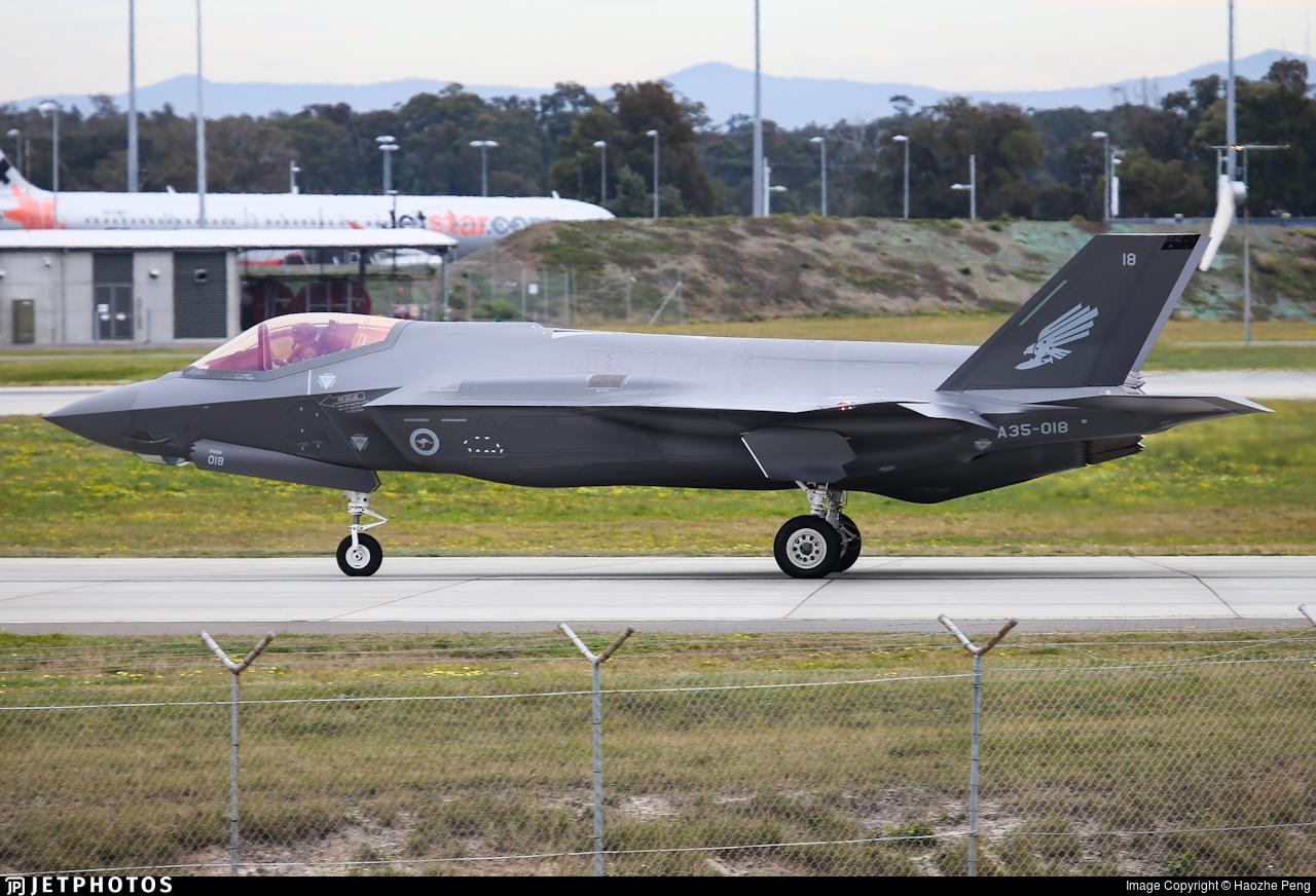 A35-018 - Lockheed Martin F-35A Lightning II - Australia - Royal Australian Air Force (RAAF)