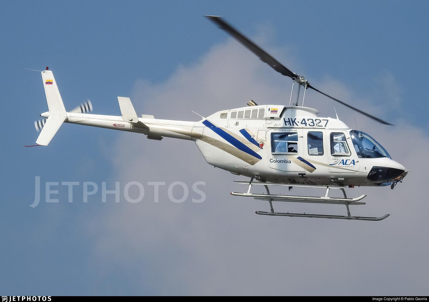 HK-4327 - Bell 206L-3 LongRanger III - ACA AeroCharter Andina