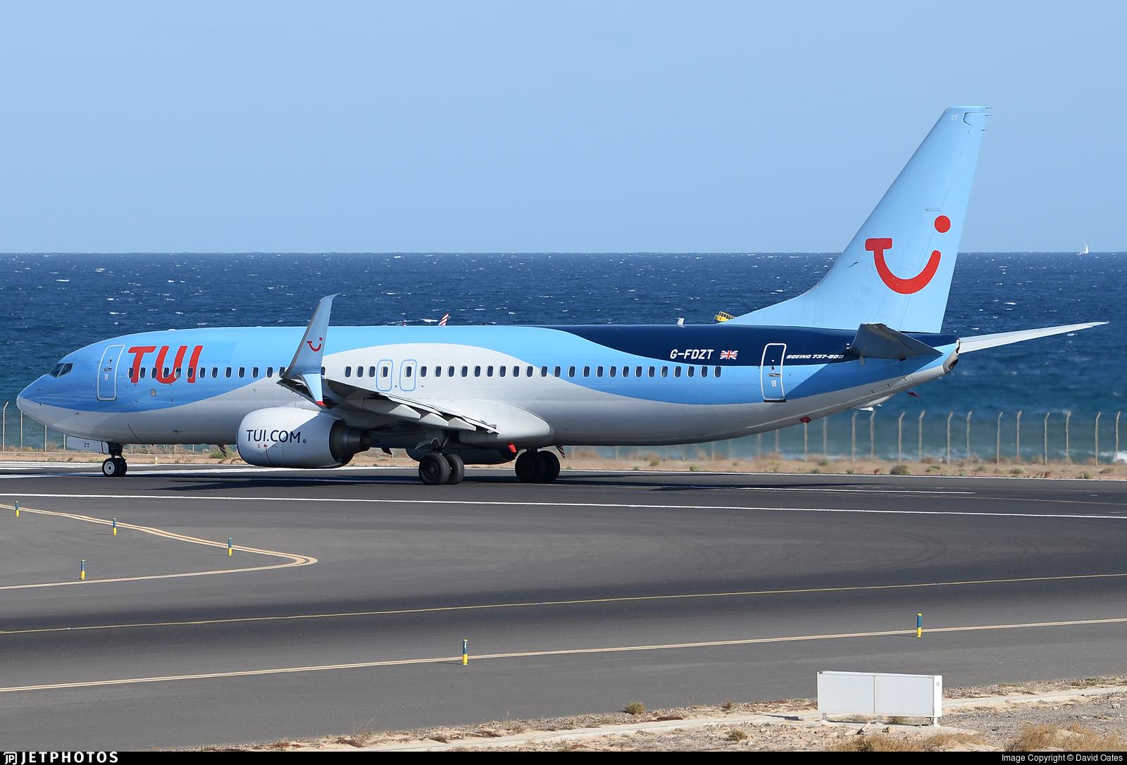 G-FDZT - Boeing 737-8K5 - TUI