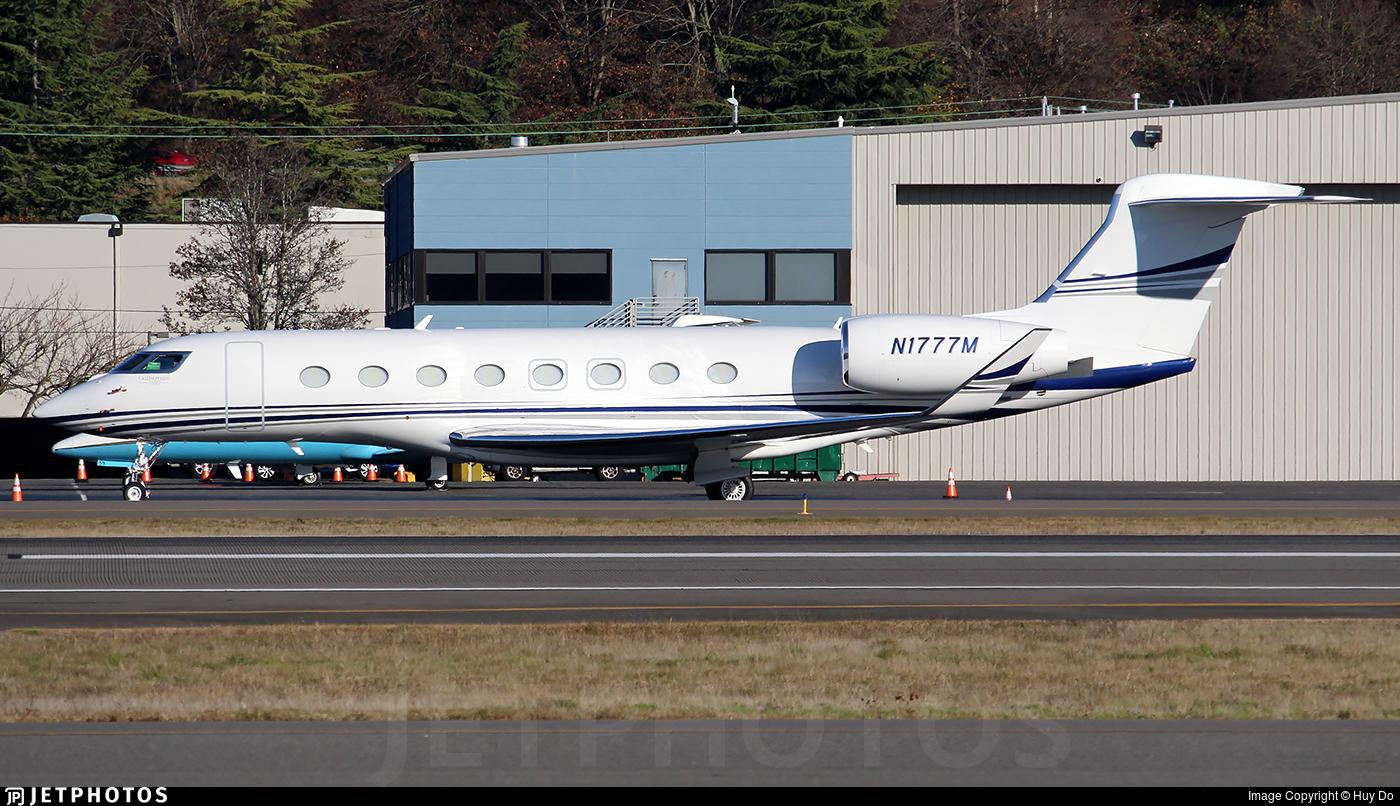 N1777M - Gulfstream G650 - Jet Aviation Flight Services