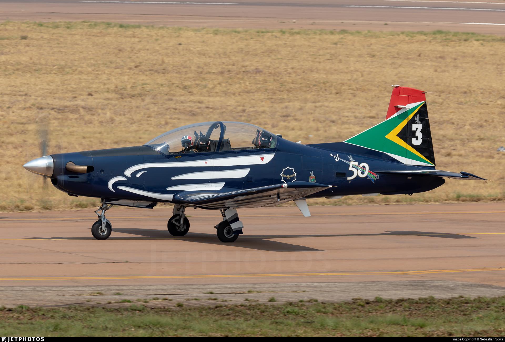 2020 - Pilatus PC-7 Mk.II - South Africa - Air Force