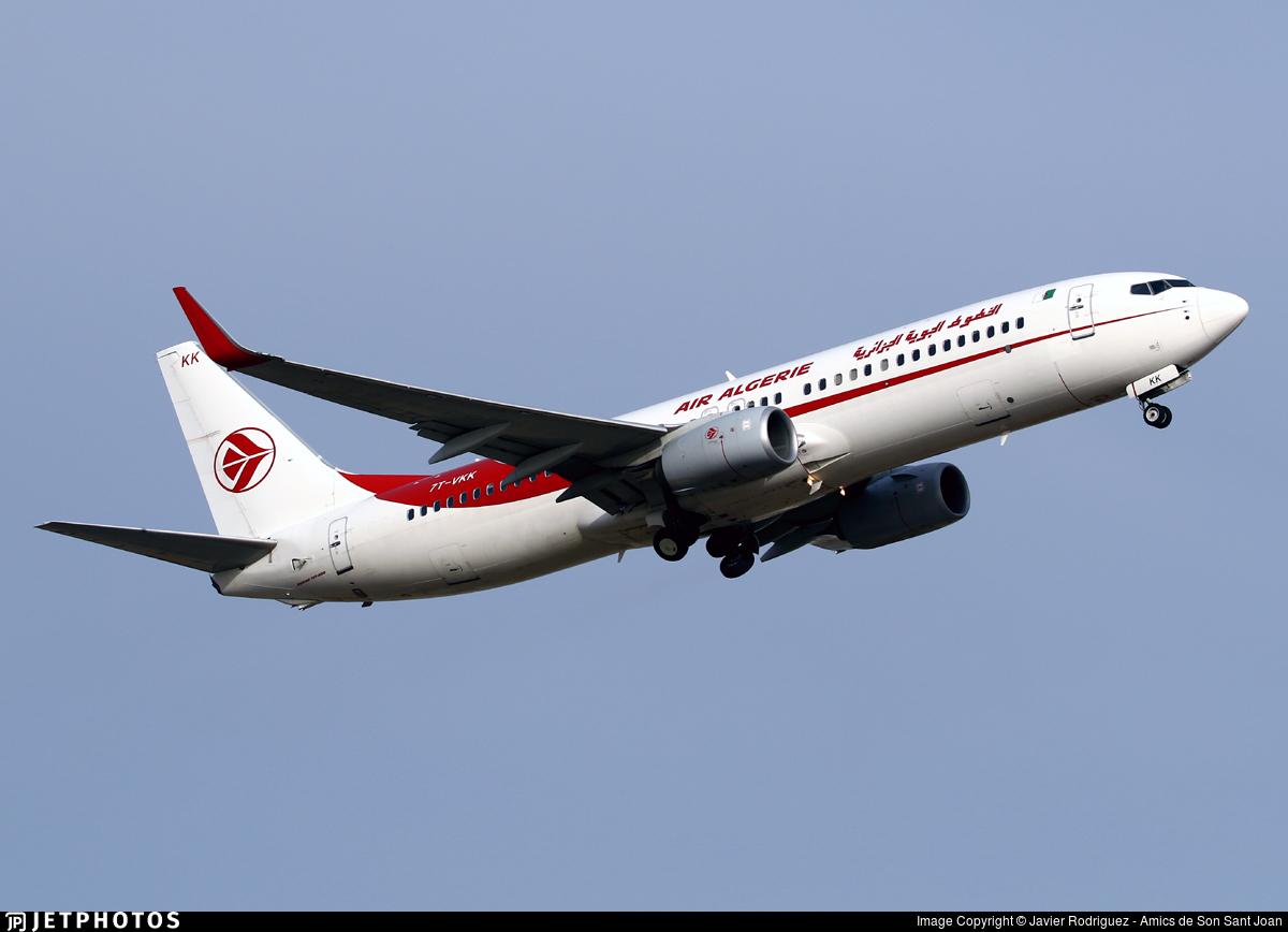7T-VKK - Boeing 737-8D6 - Air Algérie