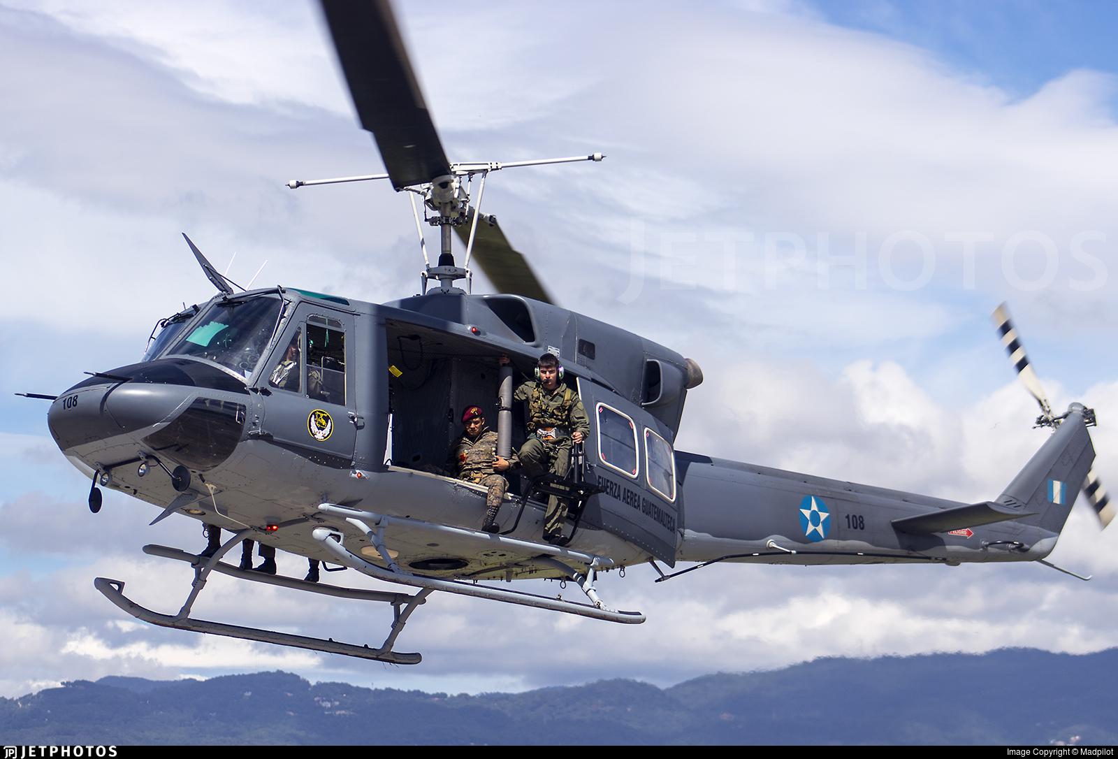 108 - Bell 212 - Guatemala - Air Force