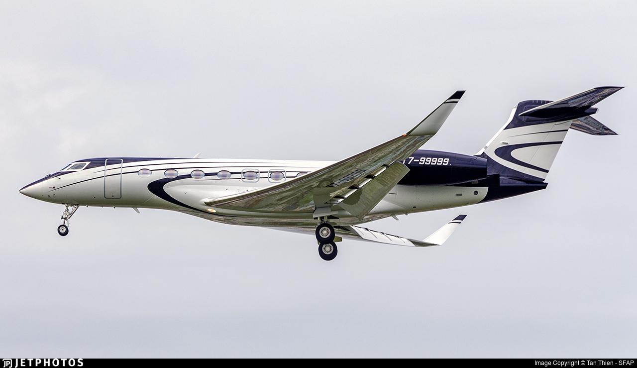 T7-99999 - Gulfstream G650ER - Private