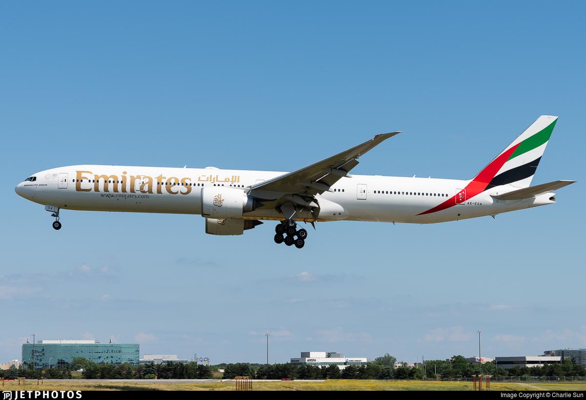 A6-EGA - Boeing 777-31HER - Emirates