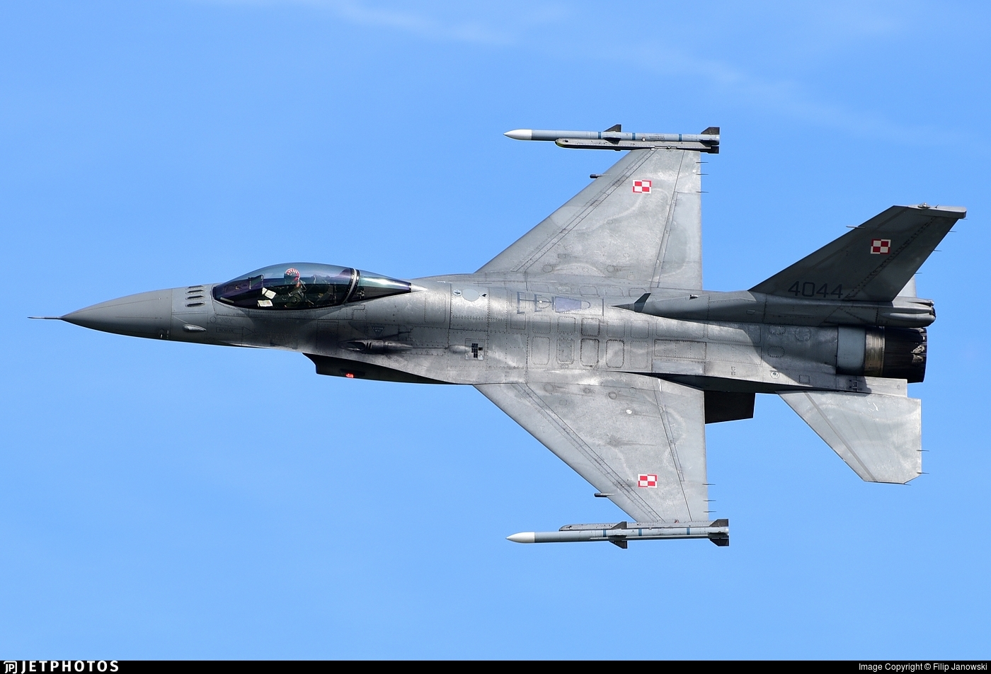 4044 - Lockheed Martin F-16C Fighting Falcon - Poland - Air Force
