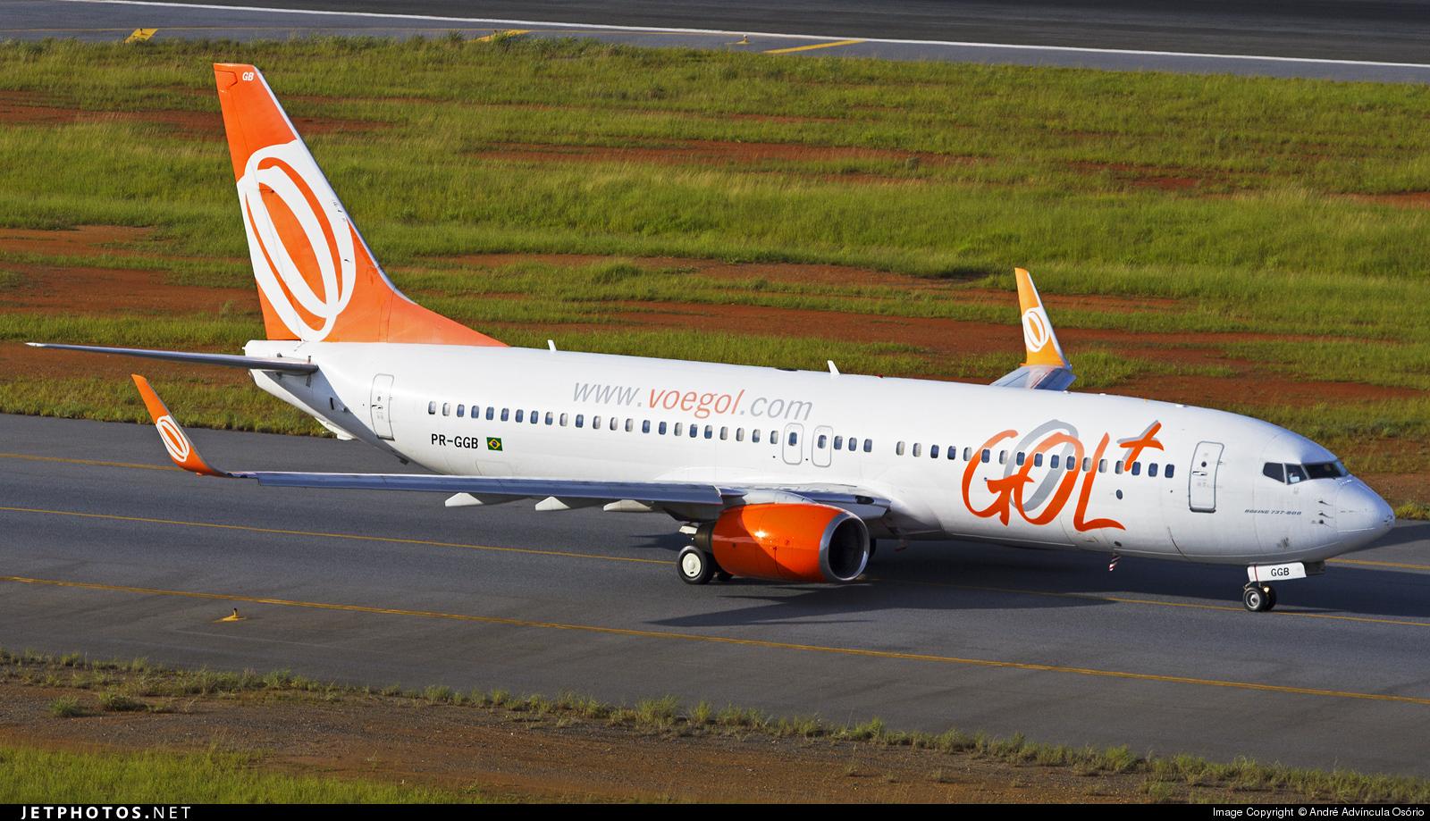 PR-GGB - Boeing 737-8EH - GOL Linhas Aéreas