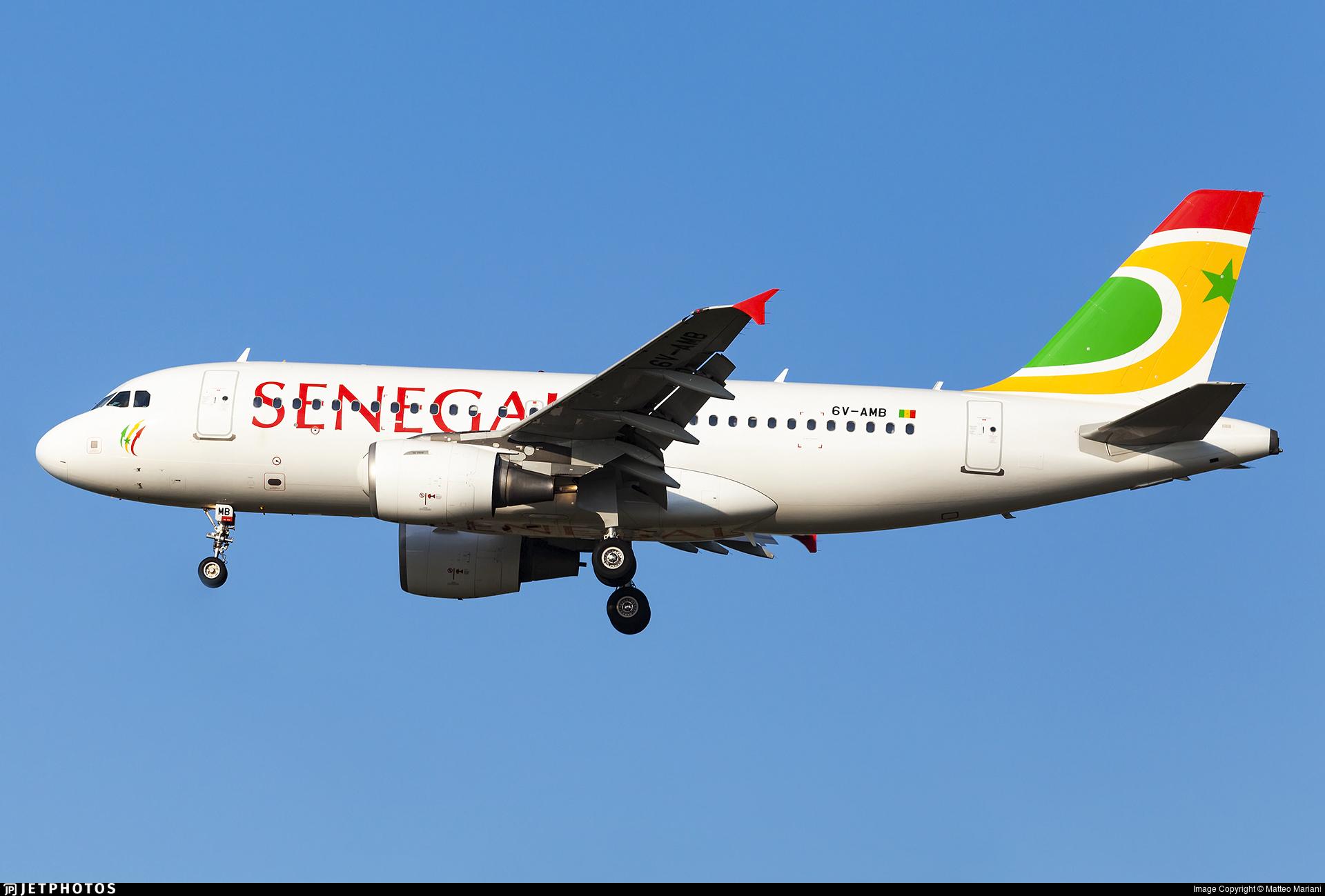 6V-AMB - Airbus A319-111 - Air Senegal