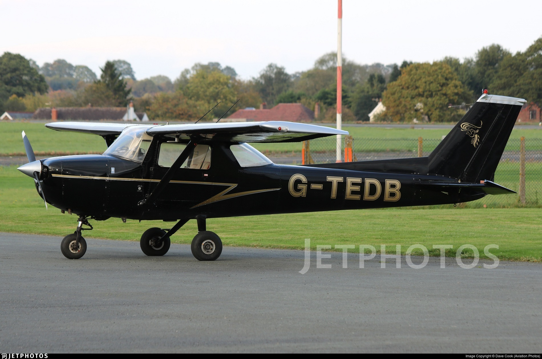 G-TEDB - Reims-Cessna F150L - Private