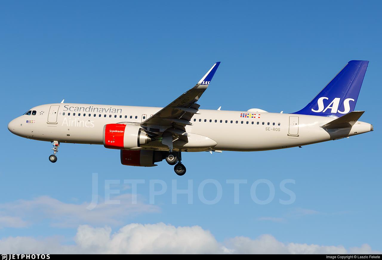 SE-ROS - Airbus A320-251N - Scandinavian Airlines (SAS)