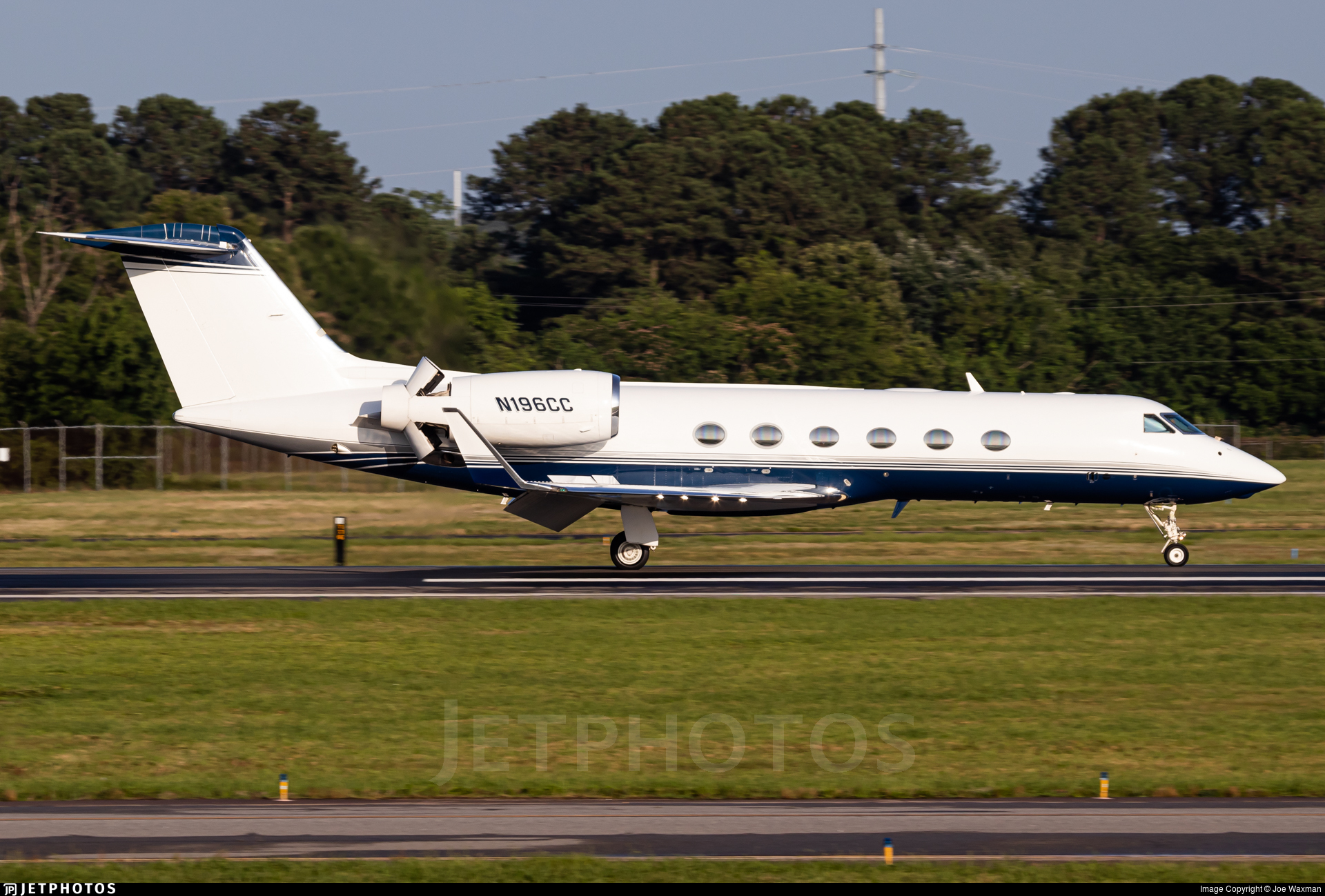 N196CC - Gulfstream G450 - Private
