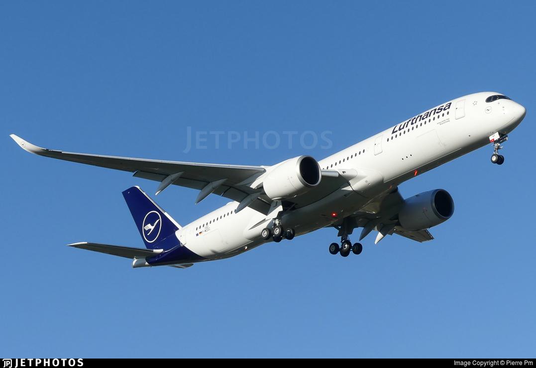 F-WZGC - Airbus A350-941 - Lufthansa