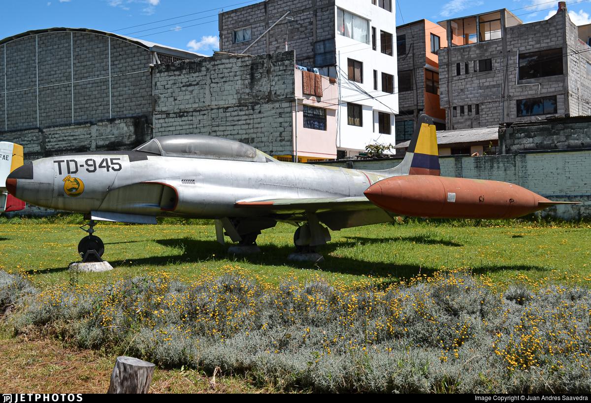 TD-945 - Lockheed T-33 Shooting Star - Ecuador - Air Force
