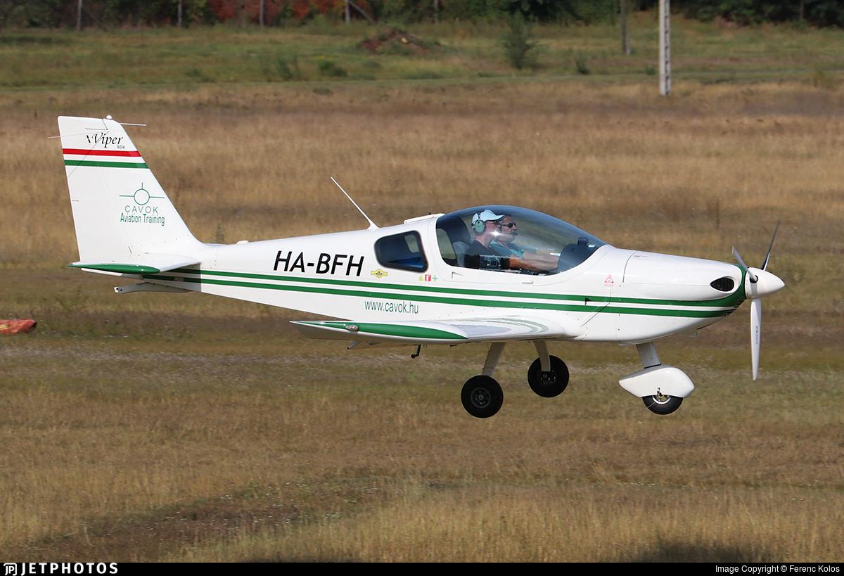 HA-BFH - Tomark Viper SD-4 - CAVOK Aviation Training