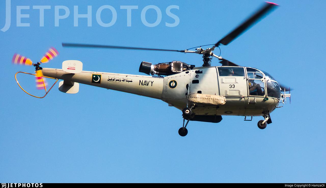 33 - Aérospatiale SA 319B Alouette III - Pakistan - Navy
