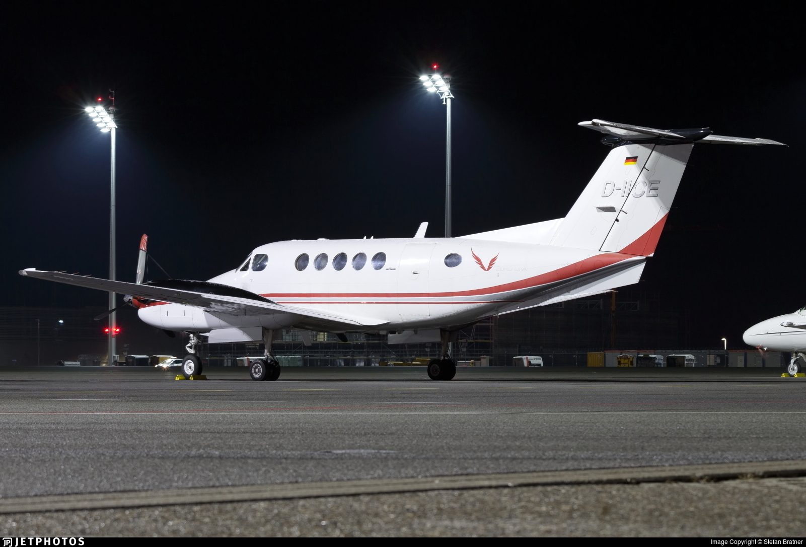 D-IICE - Beechcraft 200 Super King Air - Euro Link