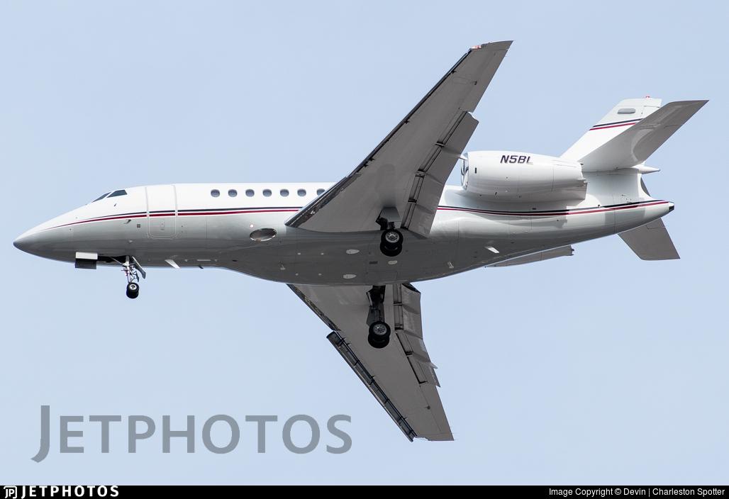 N5BL - Dassault Falcon 2000 - Private
