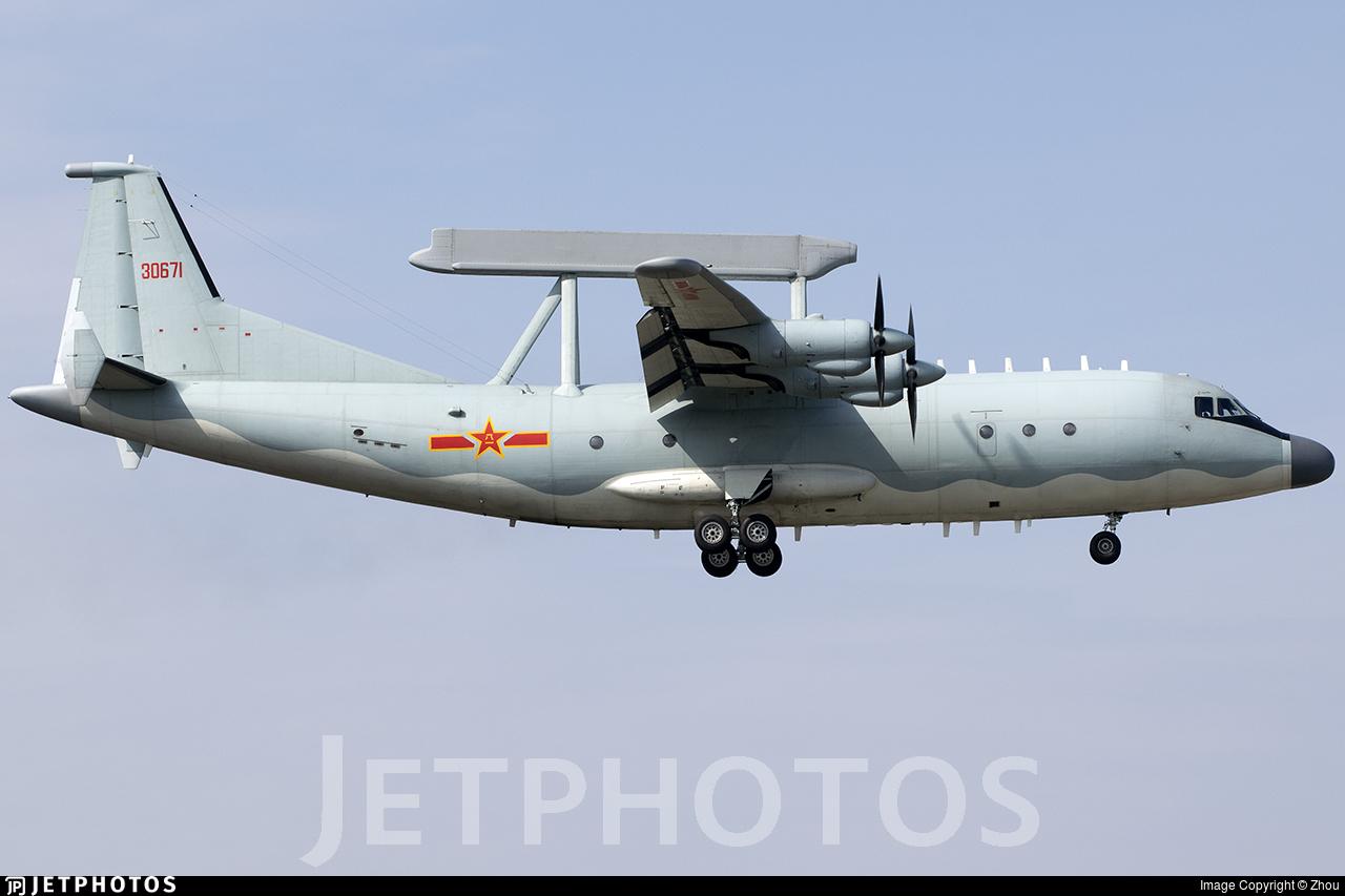 Y-8 reconnaissance plane