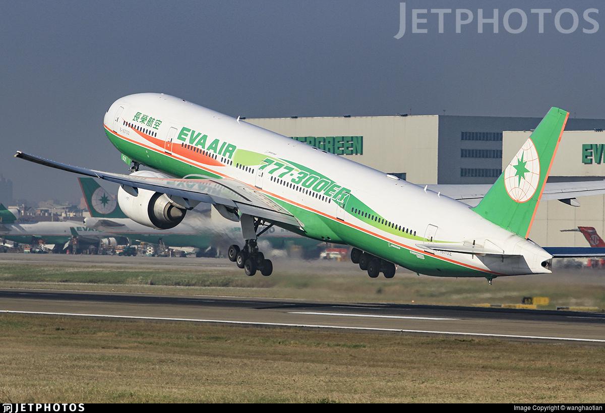 B-16702 - Boeing 777-35EER - Eva Air