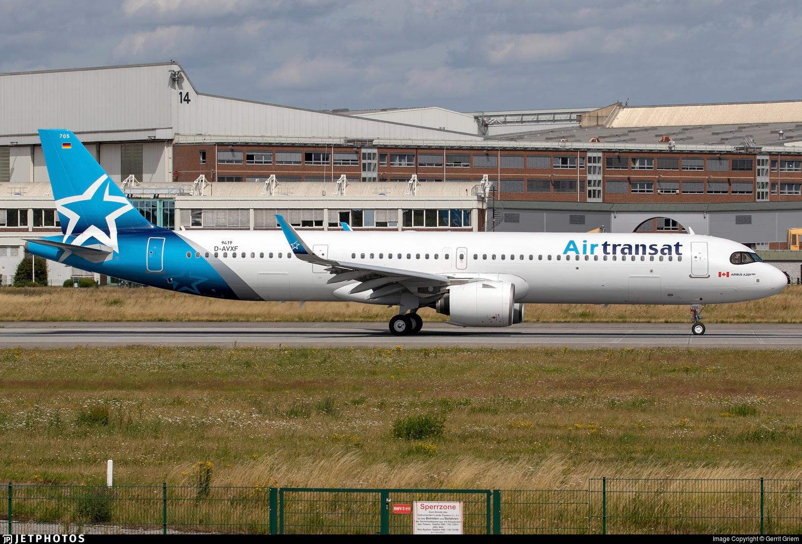 D-AVXF - Airbus A321-271NX - Air Transat