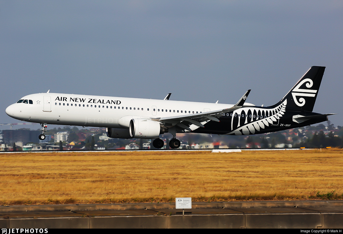 ZK-NNF - Airbus A321-271NX - Air New Zealand