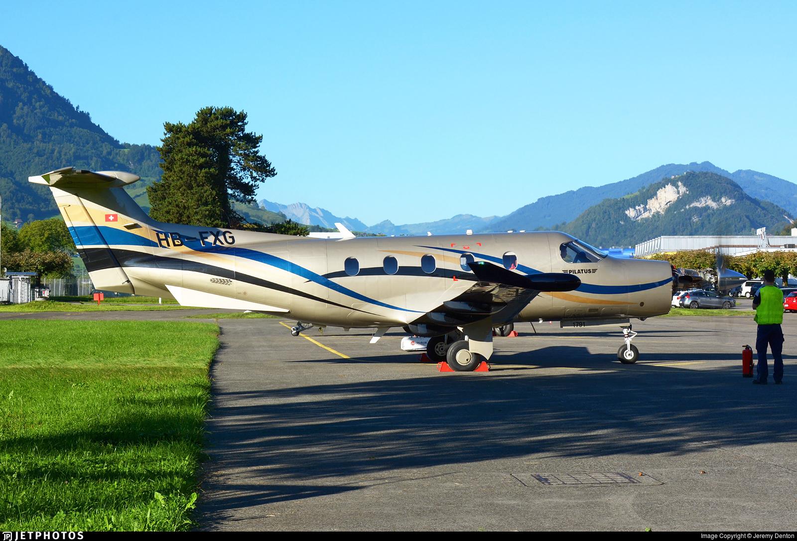 HB-FXG - Pilatus PC-12/47E - Private