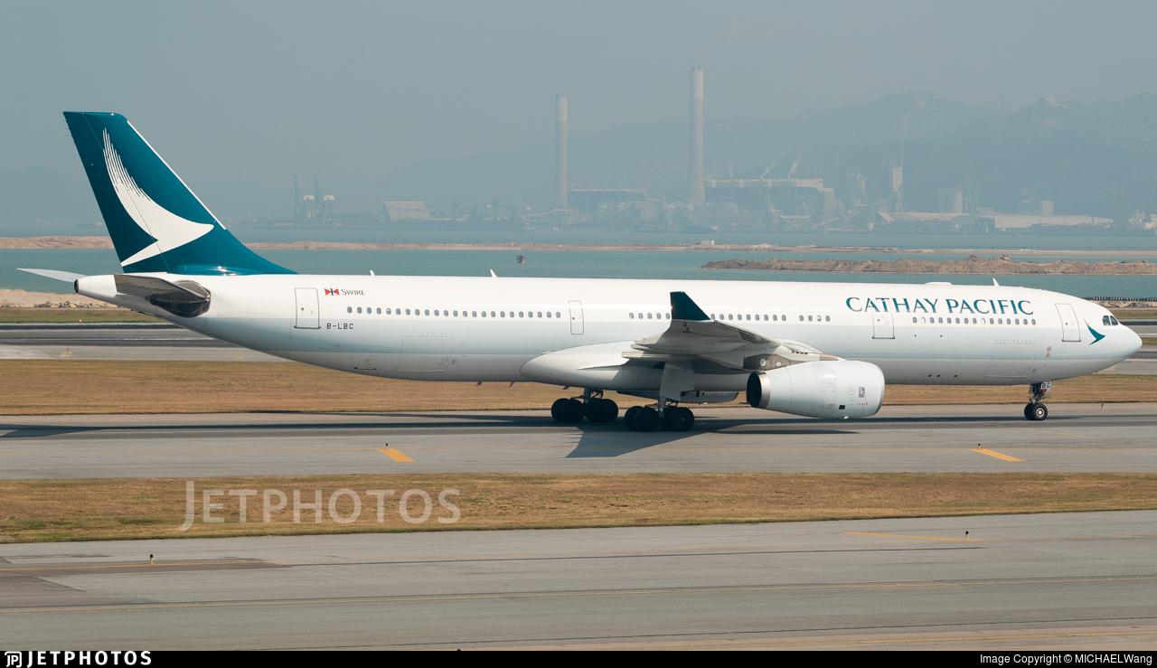 B-LBC - Airbus A330-343 - Cathay Pacific Airways