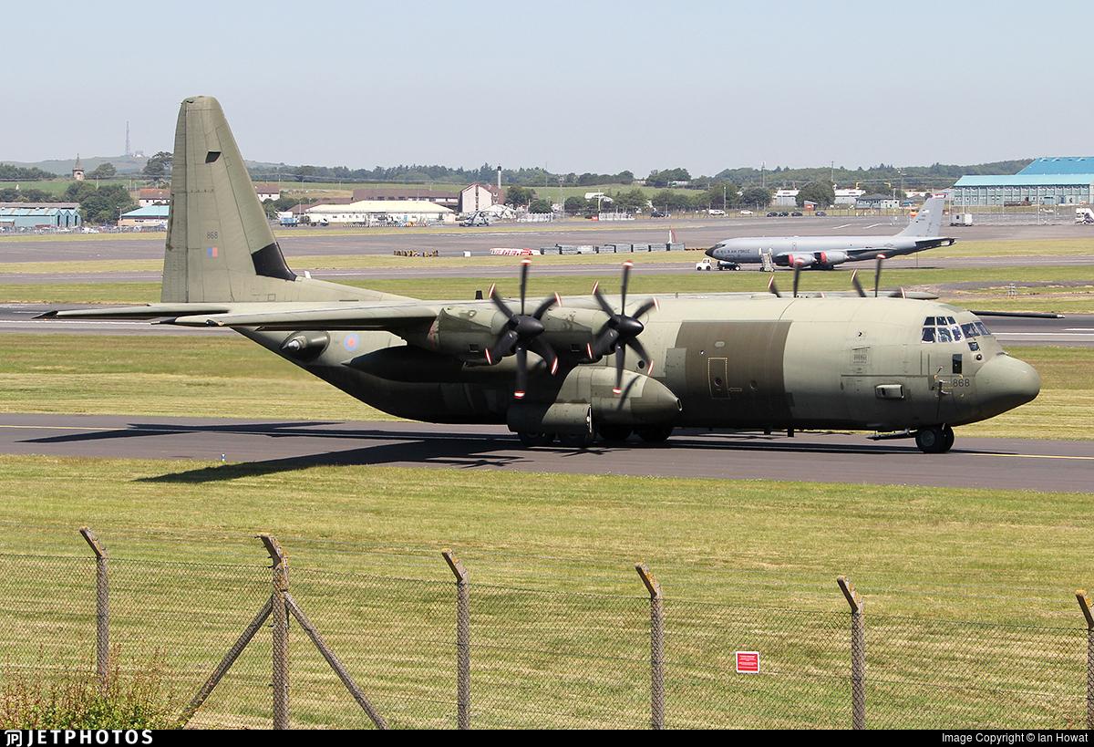 ZH868 - Lockheed Martin Hercules C.4 - United Kingdom - Royal Air Force (RAF)