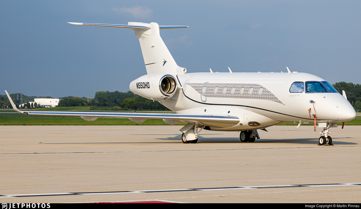 N550HD - Embraer EMB-550 Legacy 500 - Private