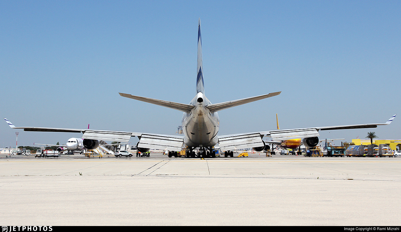 4X-ELD - Boeing 747-458 - El Al Israel Airlines