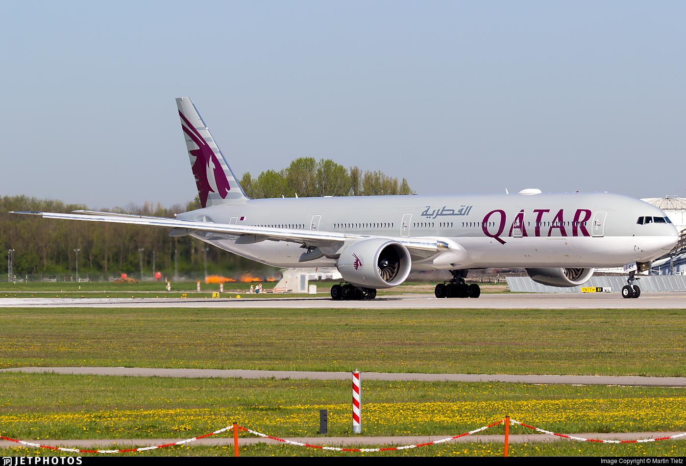 A7-BEX - Boeing 777-3DZER - Qatar Airways