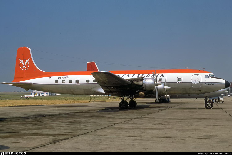 OY-DRM - Douglas DC-6A Liftmaster - Greenlandair