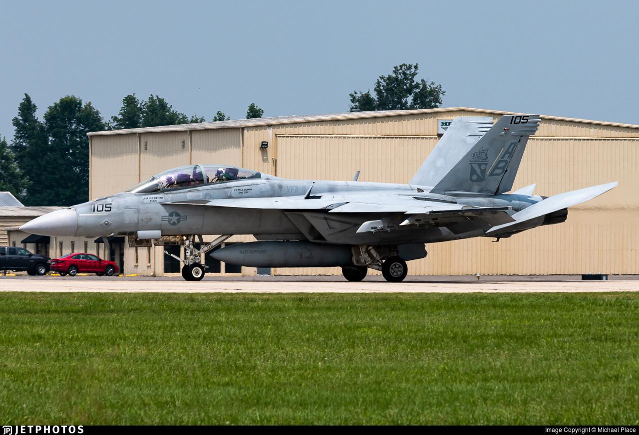 168930 - Boeing F/A-18F Super Hornet - United States - US Navy (USN)