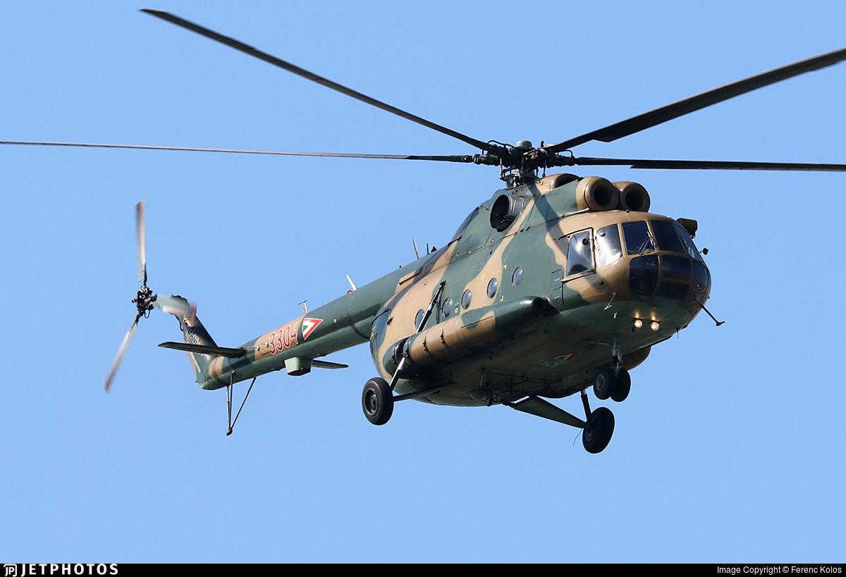 3304 - Mil Mi-8T Hip - Hungary - Air Force