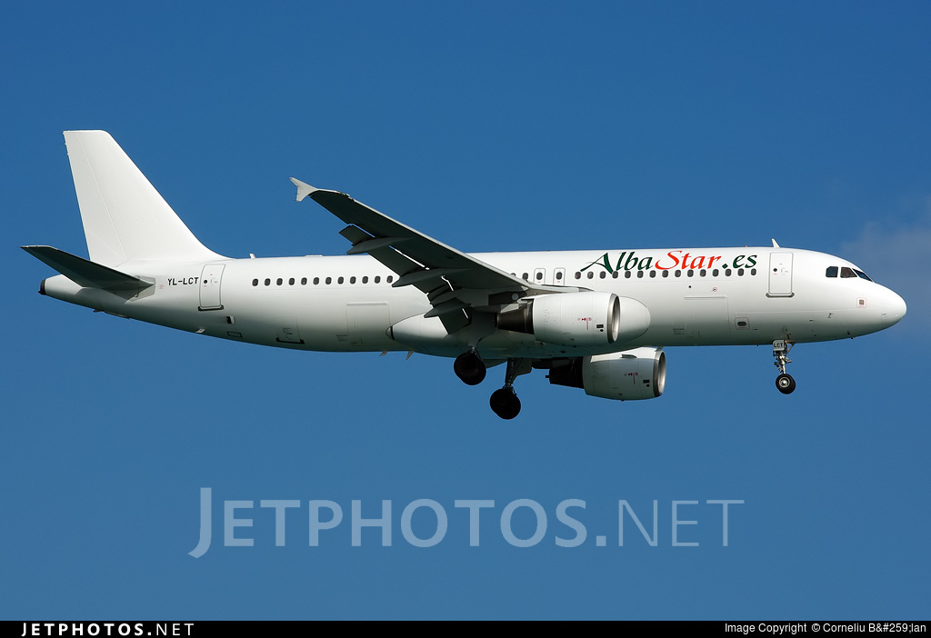 YL-LCT - Airbus A320-214 - AlbaStar (SmartLynx Airlines)