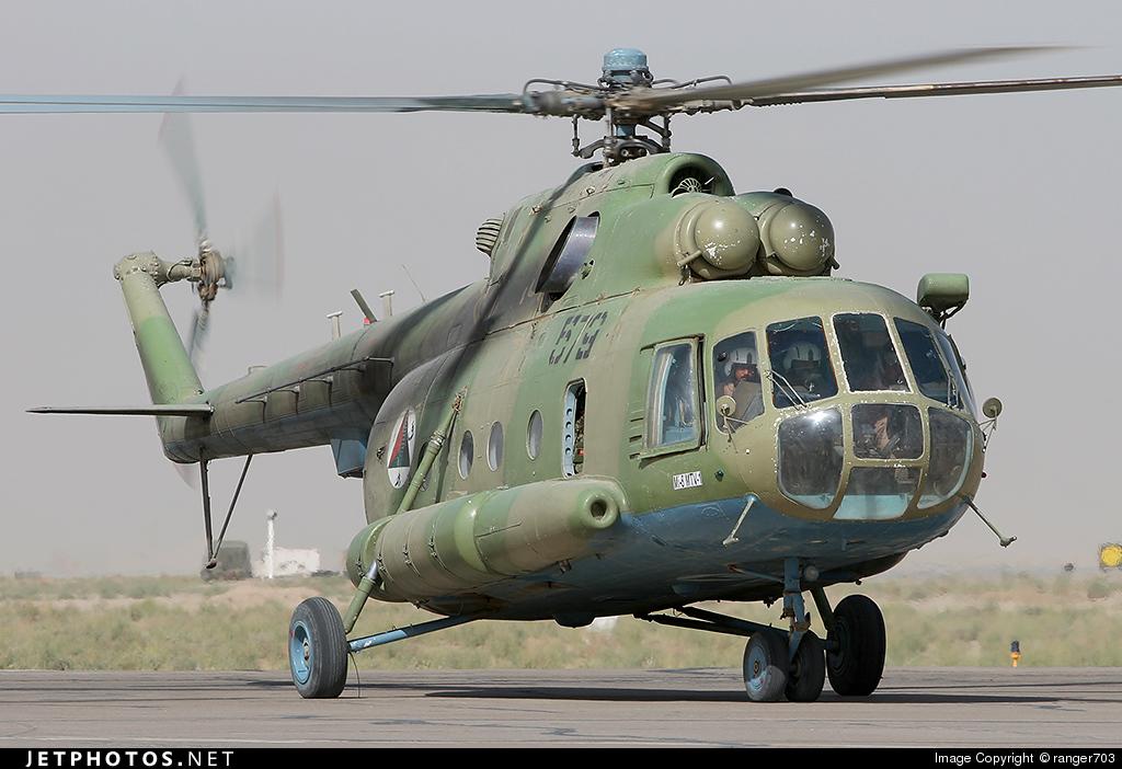 579 - Mil Mi-8MTV-1 Hip - Afghanistan - Air Force