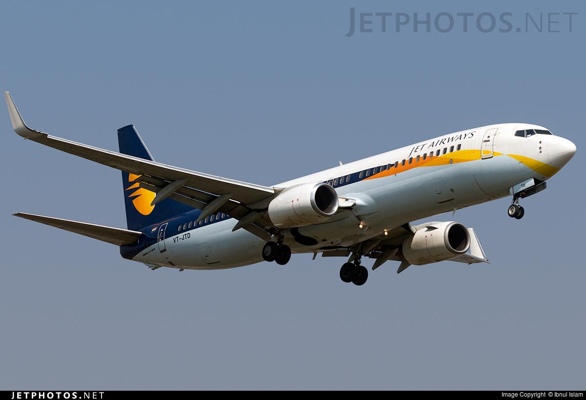 VT-JTD - Boeing 737-838 - Jet Airways