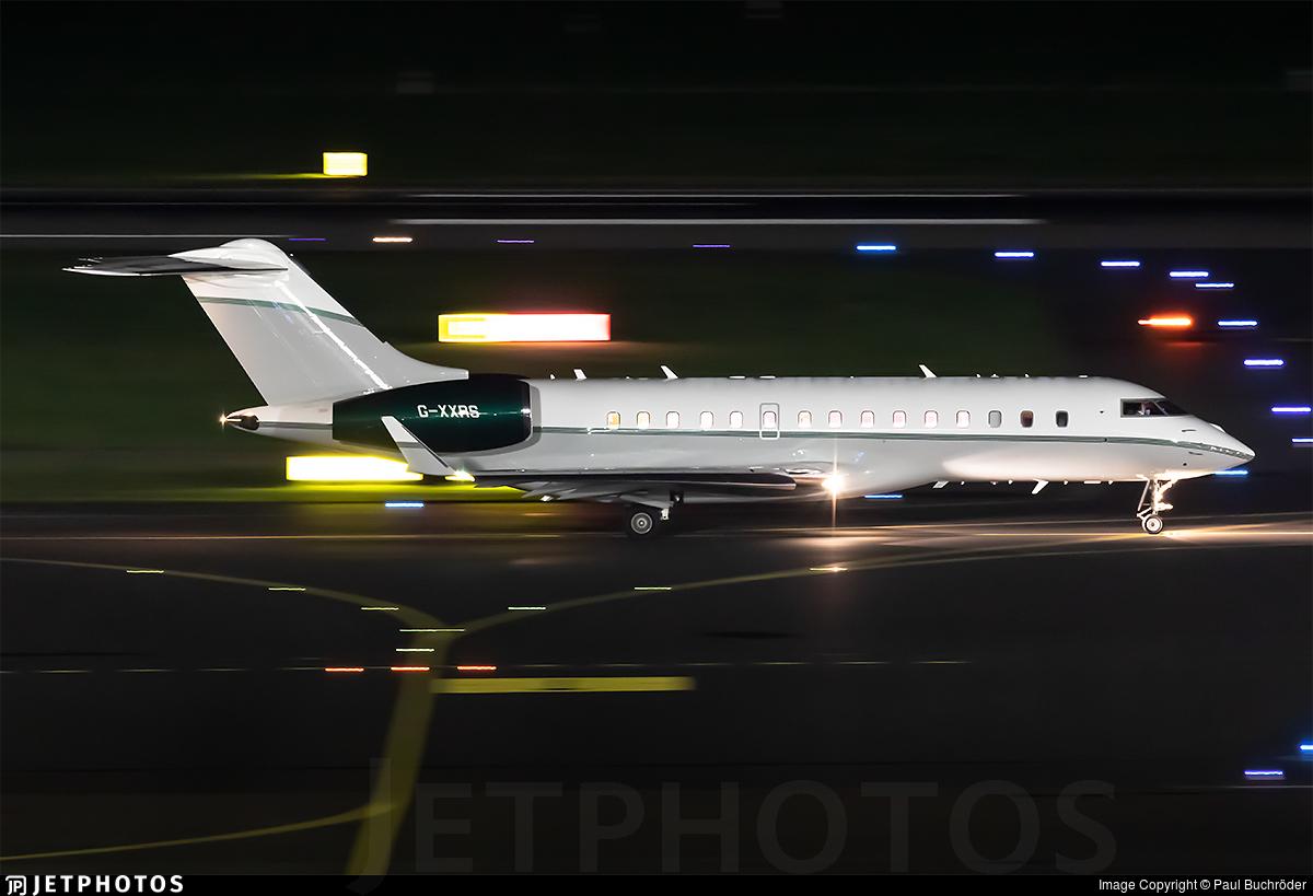 G-XXRS - Bombardier BD-700-1A10 Global Express XRS - TAG Aviation