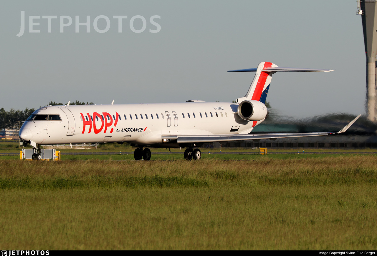 F-HMLF - Bombardier CRJ-1000EL - HOP! for Air France