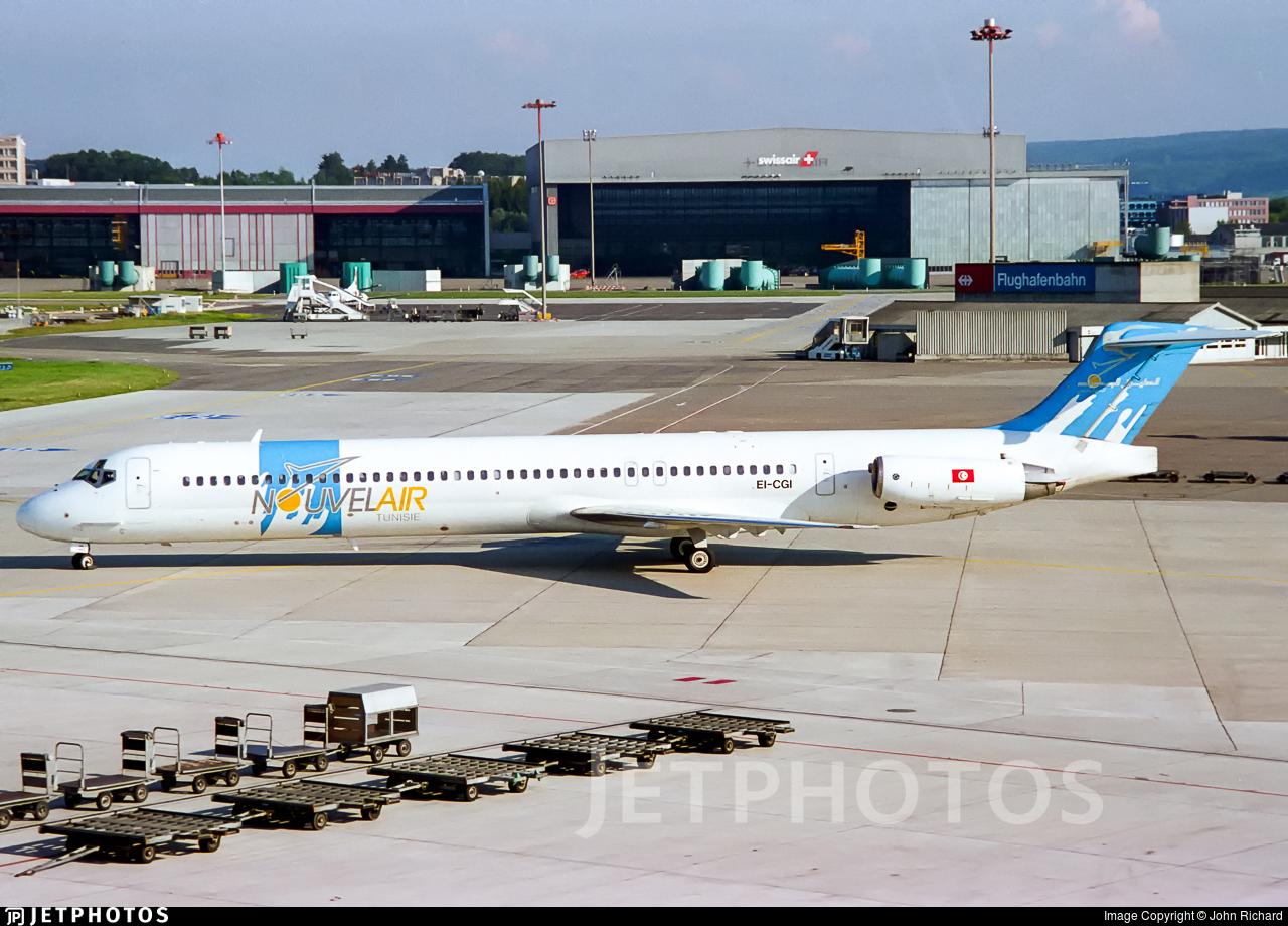 EI-CGI - McDonnell Douglas MD-83 - Nouvelair