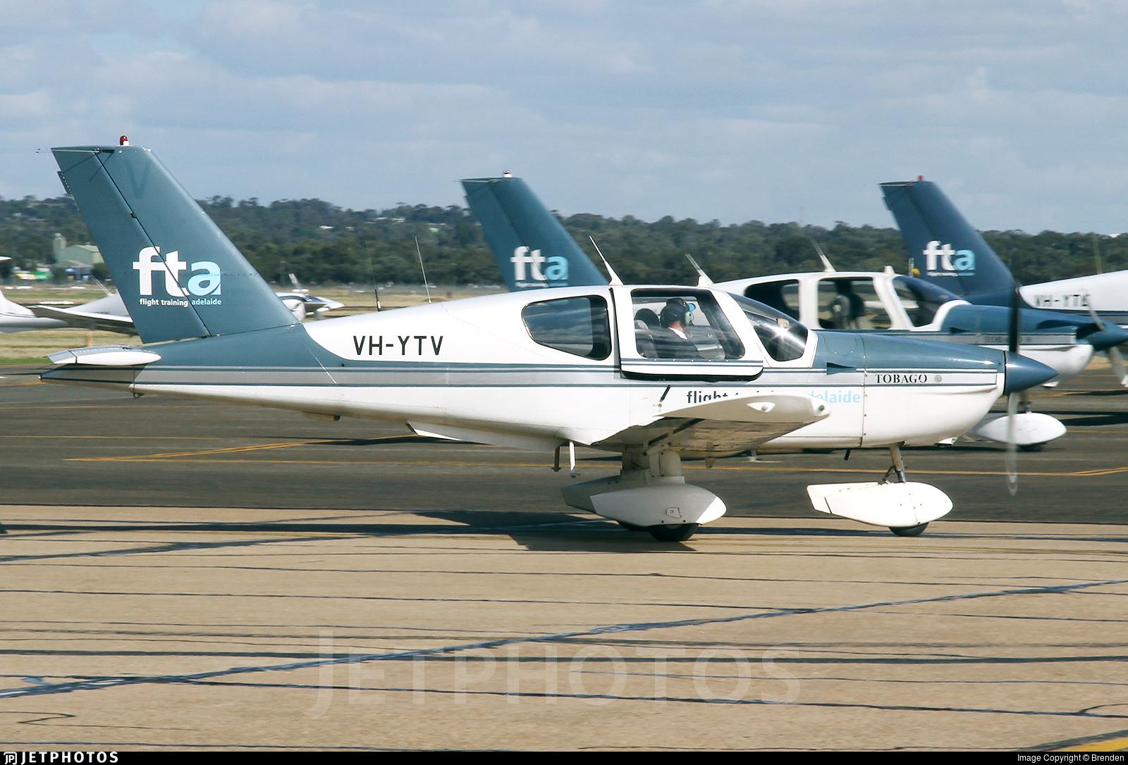 VH-YTV - Socata TB-10 Tobago - Flight Training Adelaide