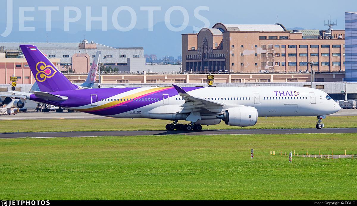HS-THK - Airbus A350-941 - Thai Airways International