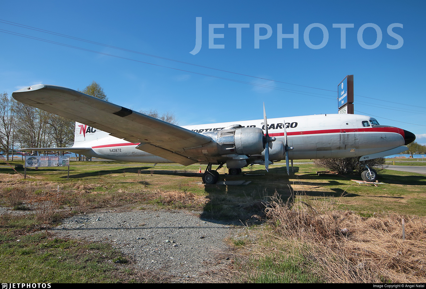 N43872 - Douglas C-118A Liftmaster - Northern Air Cargo (NAC)