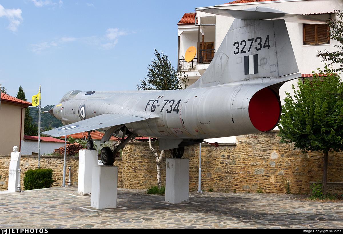 32734 - Lockheed F-104G Starfighter - Greece - Air Force
