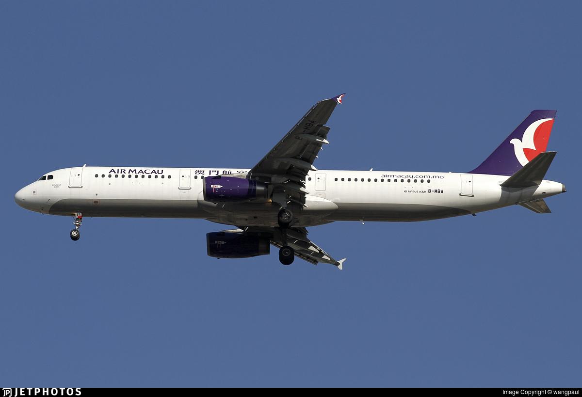 B-MBA - Airbus A321-231 - Air Macau