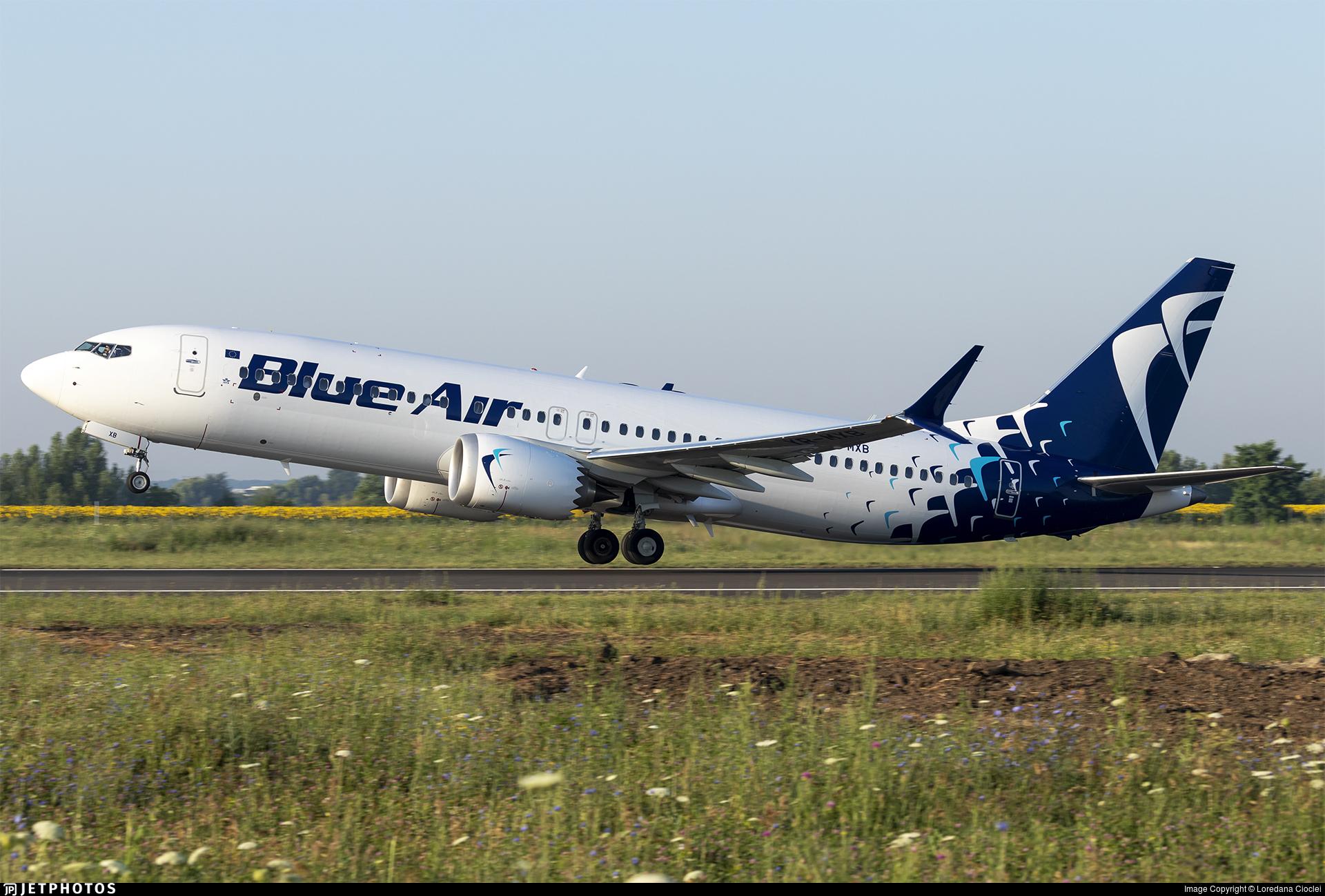 YR-MXB - Boeing 737-8 MAX - Blue Air