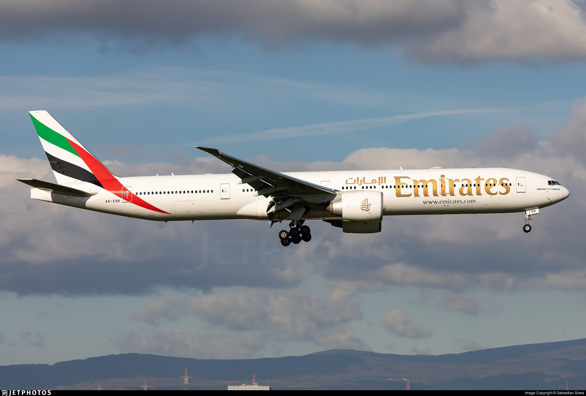 A6-EQK - Boeing 777-31HER - Emirates